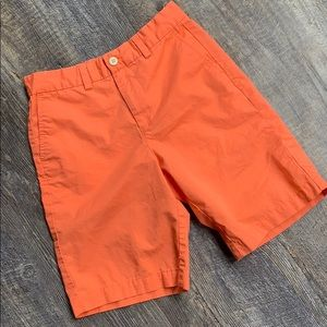 Vineyard Vines size 12 girls Bermuda shorts orange